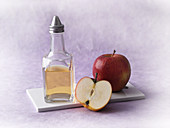 Homemade apple vinegar