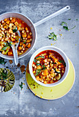 Moroccan chickpea stew