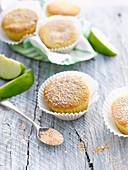 Apfel-Muffins mit Zimtzucker (glutenfrei)
