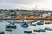 Bucht von St. Ives, Cornwall, England
