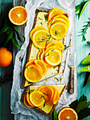 Rosemary, Labne and Orange Tart
