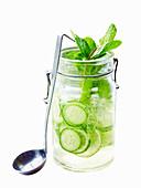 Cucumber and Elderflower Spritzer