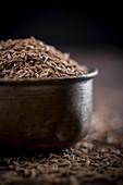 Cumin Seeds in a bowl