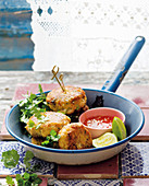 Quick Thai fish cakes