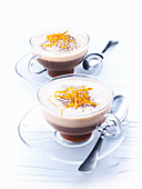 Café d' Orange (coffee with orange liqueur and cream)