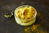 Homemade curry mayonnaise