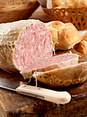 Goose salami from Italy