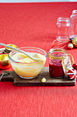 Basic Lemon Curd; Summer Berry Curd
