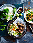 Minted Beef Vermicelli