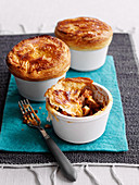 Steak and kidney pie with chorizo (England)