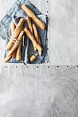 Caraway and rye sticks
