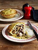 Chicken, Mushroom and Tarragon Pies