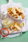 Apple Cidar Vinegar and Tarragon Mayonnaise