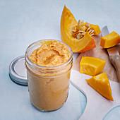 Couscous purée with pumpkin