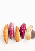 Kinds of sweet potatoes