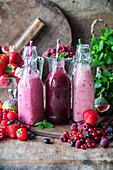 Berry smothies
