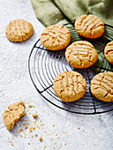 Peanut Butter and Seasalt Cookies