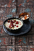 Mhallayeh (traditional Syrian wedding dessert)