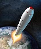 NEPTUNE rocket, illustration