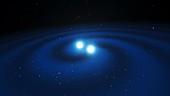 Binary neutron stars, illustration