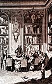 Jean-Antoine Nolle, French physicist, 19th Century illustrat