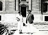 Francis E. Lloyd and Helen Davis, botanist and chemist