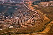 Quarry, aerial photograph