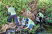 La Gran Limpieza, FoLAR River cleanup Los Angeles River, Cal
