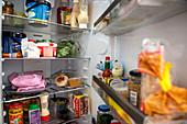 Refrigerator contents