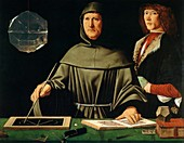 Luca Pacioli, Italian mathematician