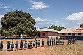 Primary school group exercise
