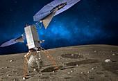Asteroid Redirect Mission, illustration