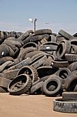 Recycling centre, Colorado, USA