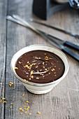 Chocolate orange fondue