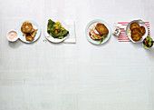 Fritters four ways