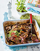 Sweet and sticky Asian style lamb