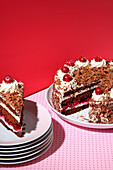 Black Forest Gateau (trend from the 1950s)