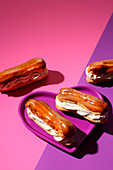 Eclairs (trend from the 1960s)