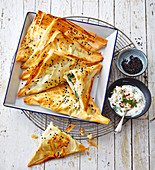 Spinach and feta burek