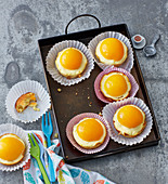 Fried egg muffins