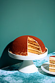 Tiramisu dome cake (trend from the 1990s)