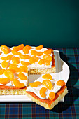 Fanta tray bake cake (trend from the 1990s)