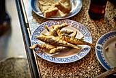 Fried sardines (Portugal)