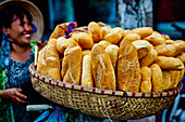 A basket of baguette (Asia)