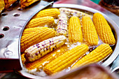 Street Food: fried corncobs