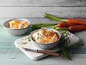 Carrot and thyme butter