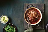Beef Brisket mit Guinness-Sauce (Slow Cooking)