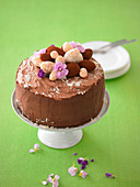 Chocolate cream cake (Easter)