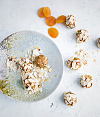 Almond and apricot balls