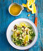 Fenchel-Dattel-Salat mit Orangen